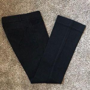 Banana Republic Sloan Fit Black Pants
